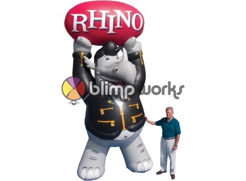 Inflatable Rhino Radio