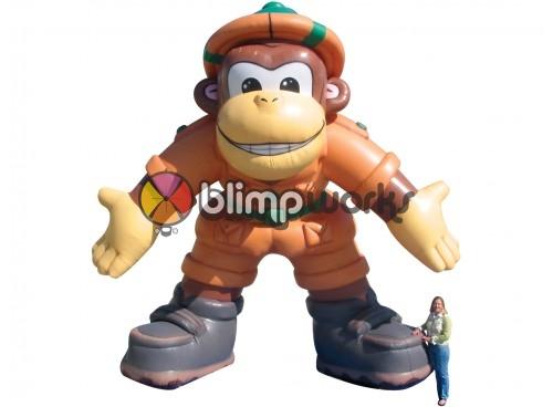 Inflatable Safari Monkey