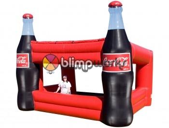 Inflatable Coke Booth