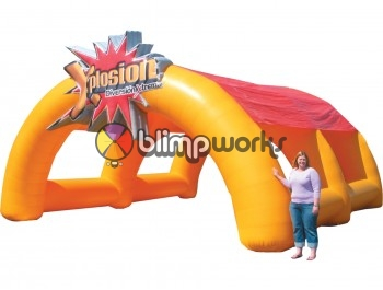 Inflatable Explosion Tunnel