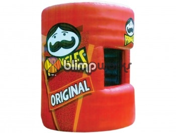 Inflatable Pringles Booth