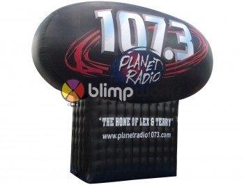 Inflatable 107.3 logo