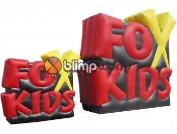 Inflatable FoxKids logo