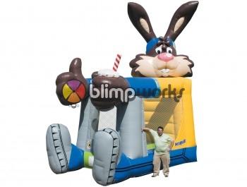 Inflatable Nesquick Combo
