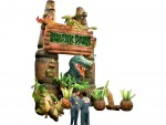 Inflatable Jurassic Scene
