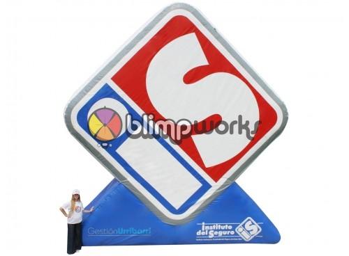 Inflatable I.S. Logo