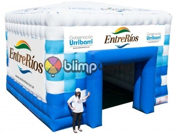 Small Inflatable Tech Tent