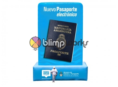 Inflatable Passport Replica
