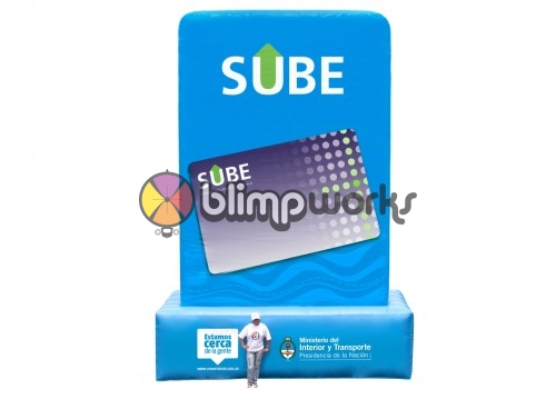 Inflatable Card Replica