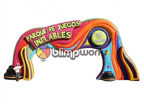 Inflatable  Raj Arch