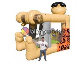 Sin Fotos Depot, Foot Bouncer Caveman, The Inflatable Depot