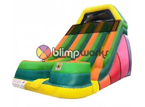 18' EZ Dual Lane Slide