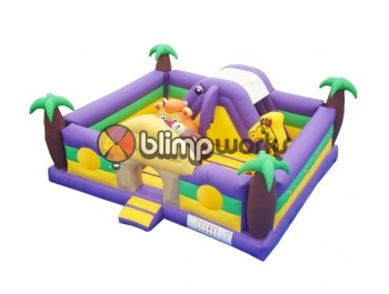 Sin Fotos Depot, Jungle Toddler Combo, The Inflatable Depot