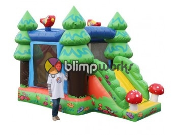 Bouncer Slide Combos, Forest Combo,